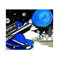 Простая ракета - двигатель воздушный шарик.
