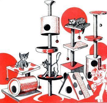 как сделать кошкин дом своими руками фото<br />