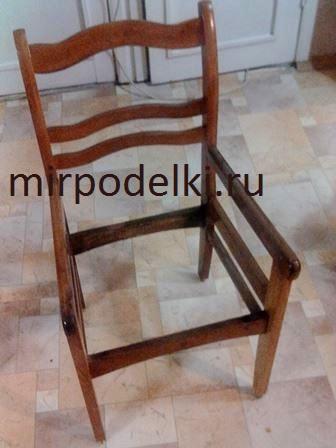 Сделать простое кресло своими руками