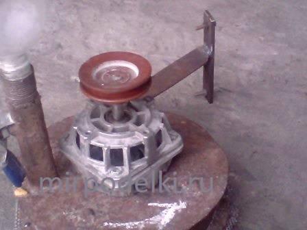 Двигателем от стиральной своими руками зернодробилку