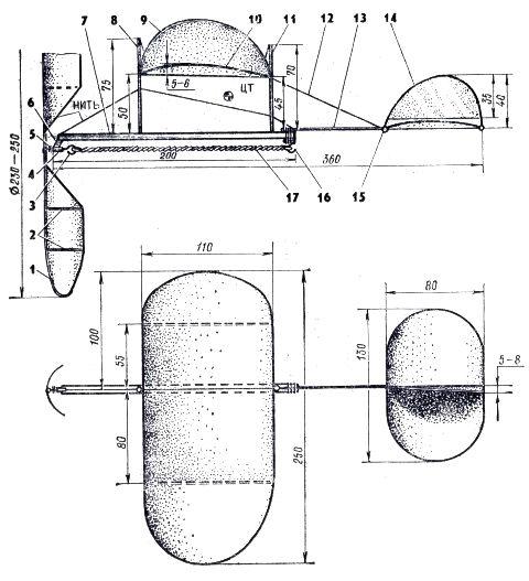 Модели с резиномотором своими руками