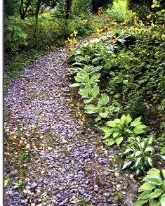 Садовая дорожка из гранитного отсева.